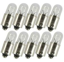 Other 10x Scooter Moped Ped Tail & Number Plate Light Push In Bulb 12V 4W 2x 233