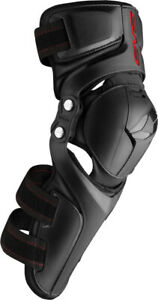 EVS Unisex-Adult Epic Knee Pad (Black, Small/Medium) Small | Medium EPK-20K-SM