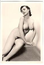 #759 ROESSLER AKTFOTO / NUDE WOMAN STUDY * Vintage 1950s Studio Photo - no PC !