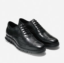 Cole Haan Black Zerogrand Wingtip Oxford Shoes Size 11.5 C20719