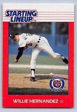 1988  WILLIE HERNANDEZ - Kenner Starting Lineup Card - DETROIT TIGERS
