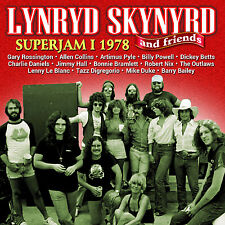 LYNYRD SKYNYRD New Sealed 2018 UNRELEASED SUPER JAM 1978 CONCERT & MORE CD