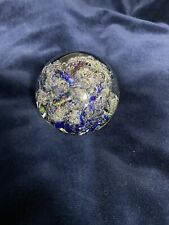 Selkirk Vintage glass paperweight Dated 1981 Unboxed