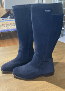 Dubarry Limerick French Navy Boots Size 40