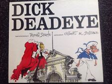 DICK DEADEYE Drawings Ronald Searle & Operas Gilbert & Sullivan vintage 1975 HC