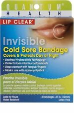 Lip Clear Invisible Cold Sore Bandage 12 Counts