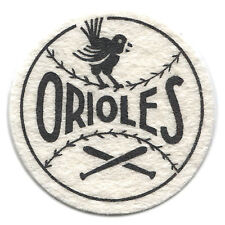 """1954 BALTIMORE ORIOLES MLB BASEBALL BEST AND CO. VINTAGE 2.5"""" TEAM LOGO PATCH"""