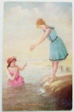BATHING BEAUTIES The First Dive Postcard