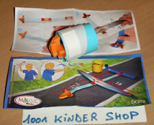 KINDER GOMOVE DC070 DC 70 FLUGZEUG AVION + BPZ