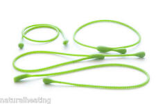 4pk GREEN silicone food meat fish tie ropes loops bakeware cooking mould baking