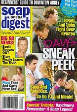 Soap Opera Digest Magazine January 7 2013 Days of our Lives Alison Sweeney