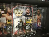 Bespoke Acrylic Display Case For MOC Carded WWE MATTEL RETRO WWF Action FIGURE