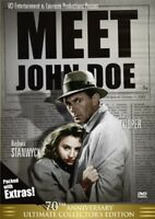 Meet John Doe (70th Anniversary) [New DVD] Black & White, Collector's Ed, Dolb