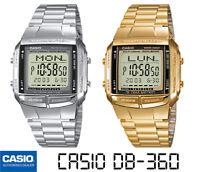 CASIO DB-360N-1AEF*DB-360GN-9AEF*ORIGINAL*ENVIO CERTIFICADO*PLATEADO*DORADO