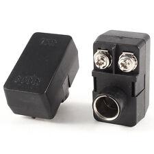 2 x Push-On Antenna Matching Transformer 300/75 Ohm TV F Coax Adapter CT