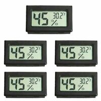 5/10PCS Digital LCD Indoor ˚F Temperature Humidity Meter Thermometer Hygrometer