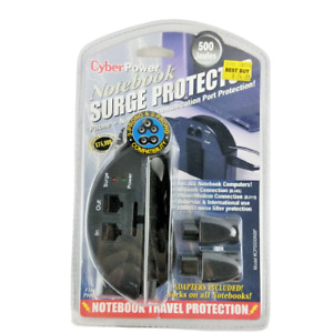 CyberPower Notebook Surge Protector CPS500NBP