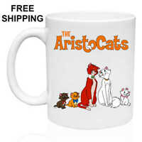 The AristoCats, Birthday, Christmas Gift, White Mug 11 oz, Coffee/Tea
