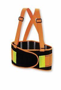 Valeo Industrial VHO8 High Visibility Back Support Lifting Belt VI9353 XL