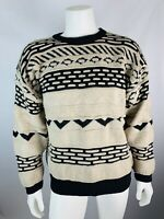 Vintage Large Mens Coogi Style Sweater Pft Guy Bill Cosby Crewneck 80s 90s