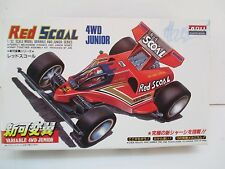 JAPAN ARII 1/32 MINI 4WD JUNIOR RED SCOAL MODEL  5545