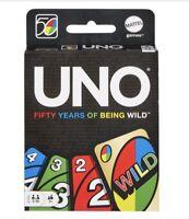 Mattel UNO 50th Anniversary Edition Uno Card Game Perfect Gift