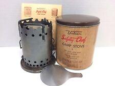 Vulcan Safety Chef Vintage Camp Stove 1950's era