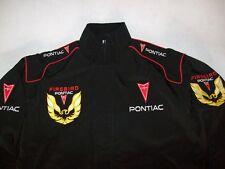 NEU PONTIAC FIREBIRD Racing Team Fan-Jacke schwarz jacket veste jas giacca jakka