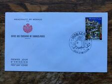 Monaco 1983 Christmas First Day Cover