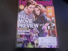 Twilight: Breaking Dawn - Entertainment Weekly Magazine 2012