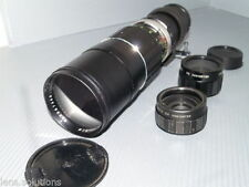 Soligor Manual Focus Telephoto Camera Lenses for Canon