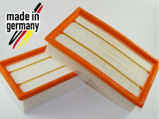 2x Filter f. Kärcher NT 35/1 NT 40/1 NT 45/1 NT 55/1 NT 561 NT 611 Tact Te M Eco