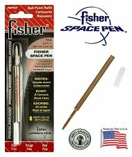 One (1) Fisher Space Pen SPR Series Red Ink / Fine Point Refill #SPR2F