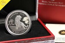 15$ Kanada Year of the Tiger 2010 Silber Ag PP Proof