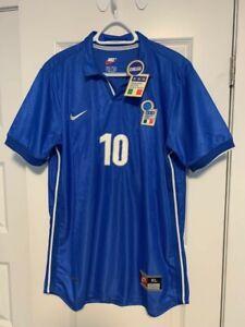 NEW Roberto Baggio Jersey Shirt Maglia trikot mailot Italy 1998 XL Replica