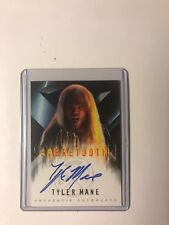 2000 Topps X-Men The Movie Tyler Mane ( SABRETOOTH ) autograph auto card