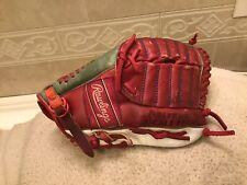 "Rawlings Amos Otis BBF-12 10.5"" Split Web Baseball Glove Right Throw Restored"
