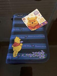 NEW Winnie The Pooh Walt Disney Mini Zipper Binder
