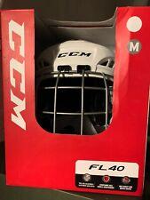 Kask hokejowy CCM Fl 40 z kratą , rozmiar M 55-59cm