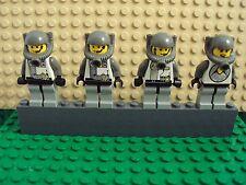 Lego Minifig ~ Lot Of 4 Vintage/Classic Explorien Astronaut Spacemen Space #bhg