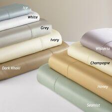 Sferra GIOTTO TWIN Bedskirt Dust Ruffle Cotton Sateen SEAMIST 610 TC ITALY  NEW!