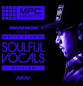 AraabMuzik Soulful Vocals Edition - Expansion for AKAI MPC/Force