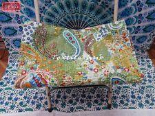 Blanket Gudri King Size Indian Handmade Bedspreads Quilt Vintage Kantha Cotton 9