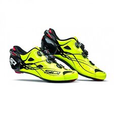 SIDI Shot Road Carbon Cycling Shoes Cleat Shoes Bright Yellow 40-46 EUR Italy