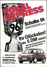 DFB-Pokal 84/85 Hannover 96 - FC Schalke 04, 22.12.1984