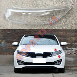 Left Side Headlight Cover Clear PC With+ Glue Rplace For KIA K5 Optima 2011-2013