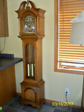 Vintage Herschede 1970s Hall (Grandfather) Clock.