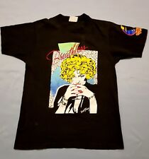 MADONNA OFFICIAL BREATHLESS T-SHIRT DISNEY DICK TRACY MOVIE 1990