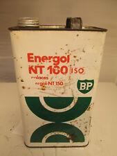 BP Energol gallon oil tin. motor oil. Shell. Esso.BP. garage.