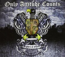 ONLY ATTITUDE COUNTS - 20 YEARS OF ATTITUDE (2CD DIGIPACK) 2 CD NEUF